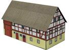 HalfTimber Paper Model